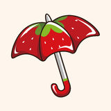 Umbrella theme elements vector,eps Royalty Free Stock Image