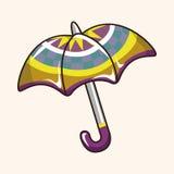 Umbrella theme elements vector,eps Royalty Free Stock Photos