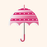 Umbrella theme elements vector,eps. Vector illustration file Royalty Free Stock Images