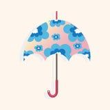 Umbrella theme elements vector,eps Stock Image