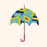 Umbrella theme elements vector,eps Stock Photos