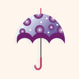 Umbrella theme elements vector,eps Stock Photography