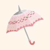 Umbrella theme elements vector,eps Stock Images