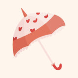 Umbrella theme elements vector,eps Royalty Free Stock Photography