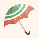 Umbrella theme elements vector,eps Royalty Free Stock Image