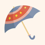 Umbrella theme elements vector,eps. Vector illustration file Stock Image