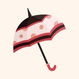 Umbrella theme elements vector,eps. Vector illustration file Royalty Free Stock Photo
