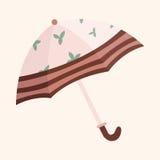 Umbrella theme elements vector,eps. Vector illustration file Stock Photography