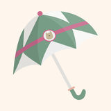 Umbrella theme elements vector,eps Royalty Free Stock Photography