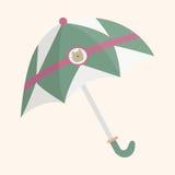 Umbrella theme elements vector,eps. Vector illustration file Royalty Free Stock Photography