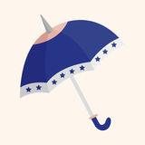 Umbrella theme elements vector,eps Stock Images
