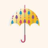 Umbrella theme elements vector,eps Royalty Free Stock Photo
