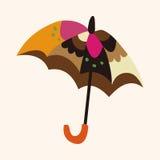Umbrella theme elemets vector,eps Stock Photo