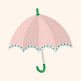 Umbrella theme elemets vector,eps Royalty Free Stock Image