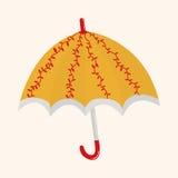 Umbrella theme elemets vector,eps Stock Photos