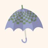 Umbrella theme elemets vector,eps Royalty Free Stock Photo