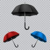 Umbrella transparent background Stock Photography