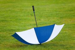 Umbrella turned by a wind Royalty Free Stock Images