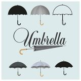 Umbrella. vector illustration