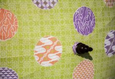 Umbrella  / Umbrella made of fabric , Asian pattern design. Umbrella  / Umbrella made of fabric / Asian pattern design Royalty Free Stock Photography