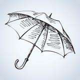 Umbrella. Vector drawing Stock Images