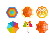 Umbrella vector illustration. Royalty Free Stock Photography