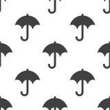 Umbrella, vector seamless pattern Stock Photo