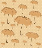 umbrella with wallpaper design Royalty Free Stock Photography