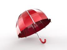Umbrella on a white background. 3D illustration. Umbrella on a white background. 3d digitally rendered illustration vector illustration