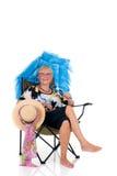Umbrella woman Royalty Free Stock Images