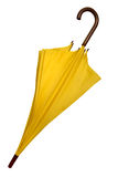 Umbrella - Yellow isolated Stock Images