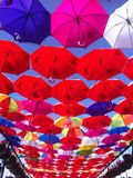 Umbrellas. In the Stock Photography