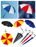 Umbrellas Stock Images