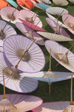 Umbrellas. Thai handmade umbrellas Royalty Free Stock Photos