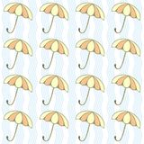 Umbrellas background Royalty Free Stock Photography