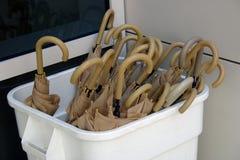 Umbrellas In The Box Stock Images