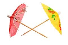 Umbrellas cocktail Stock Photos