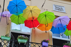 Umbrellas Stock Photo
