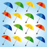 Umbrellas design Stock Photography