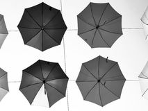 Umbrellas. Lots of umbrellas other sky Royalty Free Stock Image