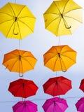 Umbrellas Stock Photo