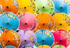 Umbrellas native Royalty Free Stock Photos
