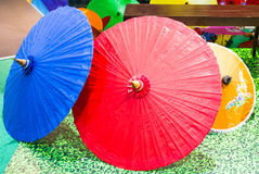 Umbrellas native Royalty Free Stock Images