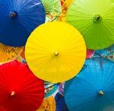 Umbrellas native Stock Photo
