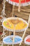 Umbrellas / Paper umbrellas colorful : Colorful umbrellas background. Umbrellas / Paper umbrellas colorful / Colorful umbrellas background stock photo