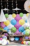 Umbrellas / Paper umbrellas colorful : Colorful umbrellas background. Umbrellas / Paper umbrellas colorful / Colorful umbrellas background stock photos