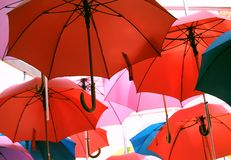 Umbrellas Royalty Free Stock Photo