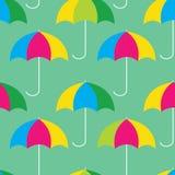 Umbrellas seamless pattern. Colorful umbrallas, seamless pattern design Royalty Free Stock Photo