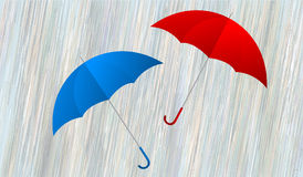 Umbrellas for two Royalty Free Stock Photo