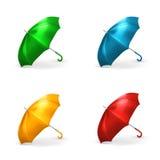 Umbrellas vector illustration Stock Images